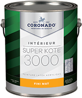 MAADCO PAINTS INC Super Kote 3000 a été récemment amélioré pour offrir des possibilités de retouches indétectables et un pouvoir couvrant excellent. Conçu pour faciliter le travail bien fait, ce produit à faible teneur en COV est idéal pour les nouveaux projets ou les surfaces à repeindre, y compris les projets commerciaux, résidentiels, et les nouveaux projets de construction.boom
