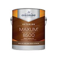 HANNA'S COLOR CENTER INC. A 100% acrylic deck stain formulated to provide a rugged finish that withstands heavy foot traffic. The solid opaque color masks the grain allowing the texture of the wood to show and provides a water resistant coating for new or previously coated exterior decks.boom